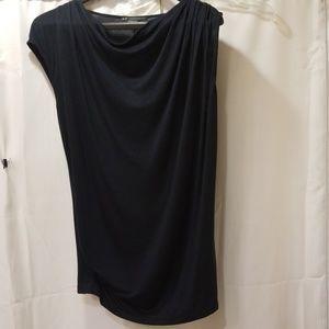 Armani Exchange Blue cowl neck knit Size S/P